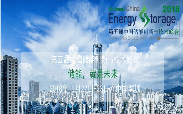 第五届中国储能创新与技术峰会
